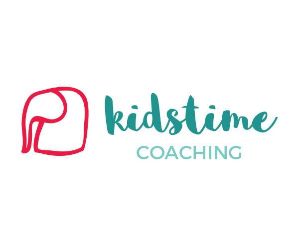 Logo en fotografie Kidstime Coaching
